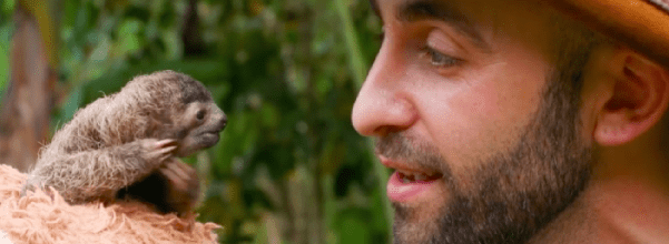 Coyote Peterson rescued sloth