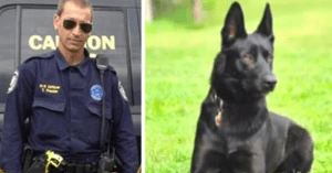 K-9 saves officer