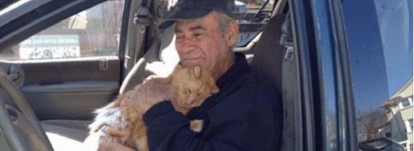 Veteran feeds 68 feral cats