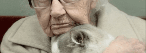 102-year-old rescues cat