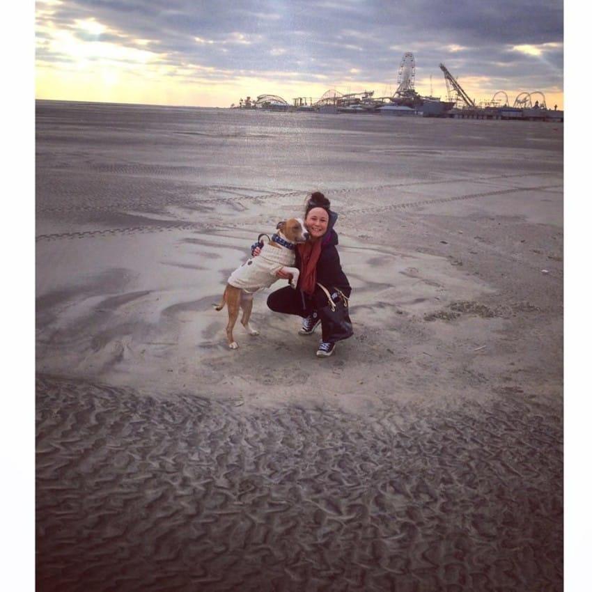shelter dog russ and kayla